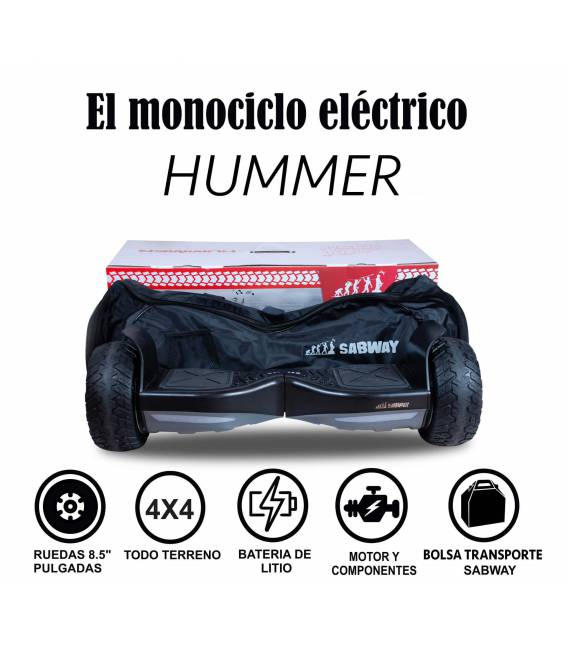 Patinete eléctrico Hummer Sabway