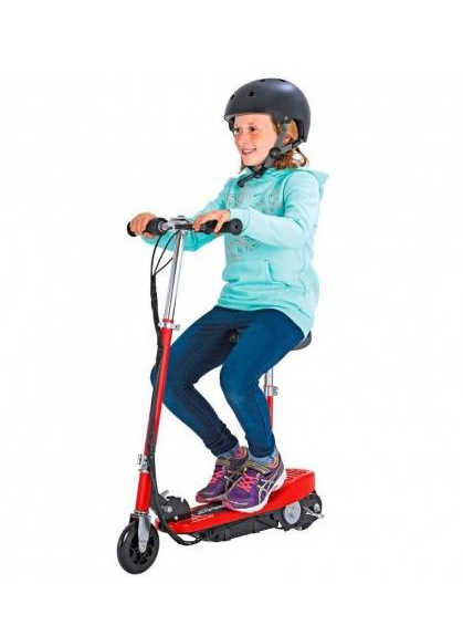 Patinete eléctrico infantil 120W Rojo